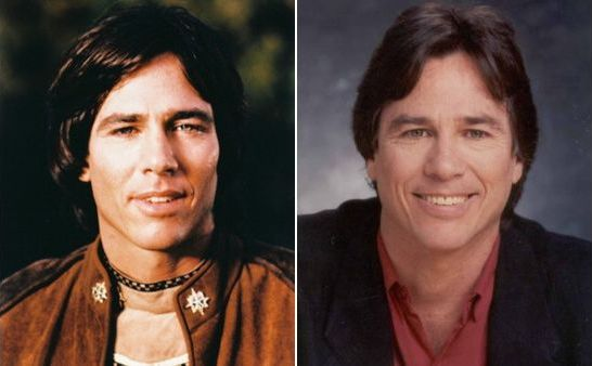 Apollo from Battlestar galactica (1978), Richard Hatch, then and now