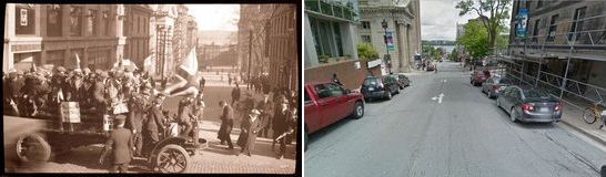 5191 George St. Halifax, NS, Canada (Estimated Circa 1916 and present day)